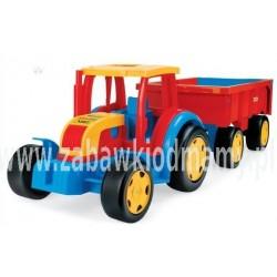 Gigant Truck Traktor z Przyczepą WADER 66100