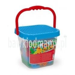 Wielkie Wiadro z klockami mini blocks - WADER 41340