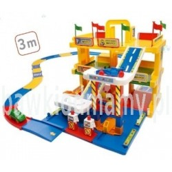 Garaż 3 poziomowy z drogą 3 m - WADER 50400