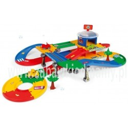 Kid Cars 3D Garaż z trasą 5,5 m WADER 53130