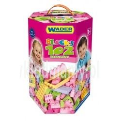 Klocki 102 el. w kartonie - WADER 41291