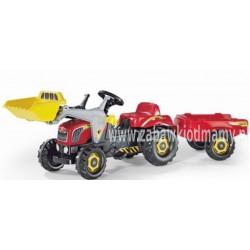 Rolly Toys Traktor Kid z Przyczepą Łyżką