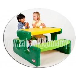 LT Stolik Piknikowy Duży Stół Zielony