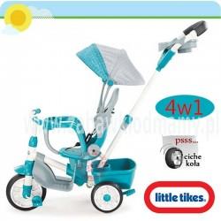 LT Rowerek Perfect Fit 4w1 Trike teal.