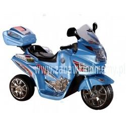 POJAZD 3188 8090184 MOTOR BLUE MOTOCYKL