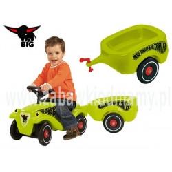 N BIG Przyczepka Bobby Car zielona