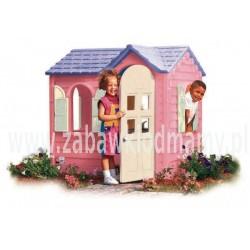 Wiejski Domek do ogrodu Różowy Little tikes