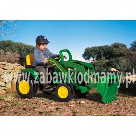 PEG PEREGO Traktor Koparka John Deere Ground 12V