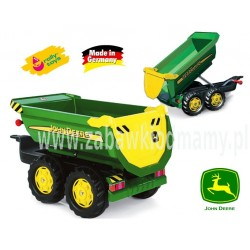Rolly Toys Przyczepa Halfpipe Wywrotka ziel.