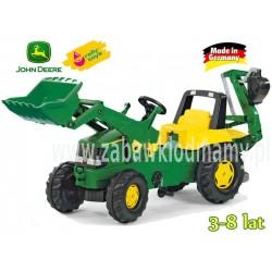 Rolly Toys Traktor Junior John Deere z Łyżka Przyc