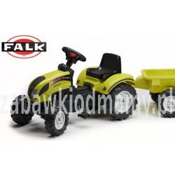 FALK Traktor RANCHTRAC przyczepa jasnozielony 2-5l