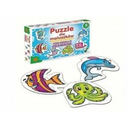 ALEXANDER Puzzle Dla Maluszków Podwodne Zwierzątka