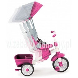 LT Rowerek Perfect Fit 4w1 Trike pink.