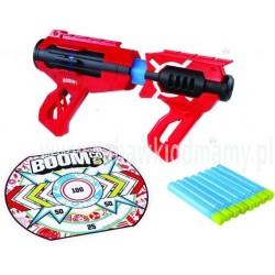 BO Slamblast Pistolet + tarcza + 8 rzutek
