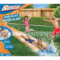 Ślizgawka wodna - Banzai Speed Blast Water Slide