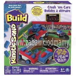 Piasek konstrucyjny Kinetic Sand Build-Samochody-Zderzaki