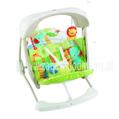 Fisher Price Baby Gear Huśtawka-Leżaczek