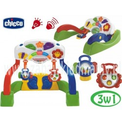 Chicco Zestaw Gimnastyczny duo Edukacyjny ogródek zabaw światło+dźwięk