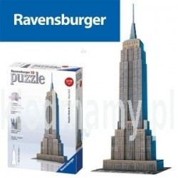 PUZZLE 3D 217el. EMPIRE STATE BUILDING REKLAMA TV