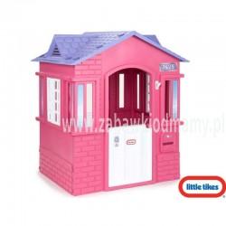 LT Domek Stylowy Cottage Różowy