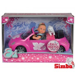 Lalka Evi w kabriolecie Simba