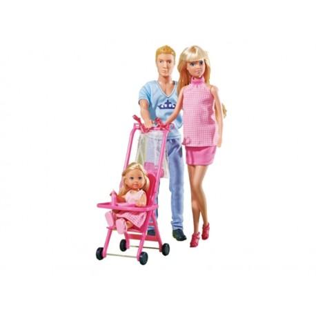 SIMBA Lalka Steffi Szczęśliwa Rodzina