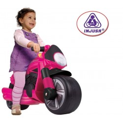 INJUSA Pushtoy Moto Wheeler Pink