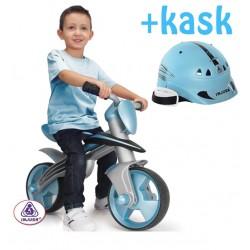 INJUSA Rowerek biegowy BLUE JUMPER + KASK