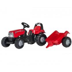 Rolly Toys Traktork Kid Case z przyczepą