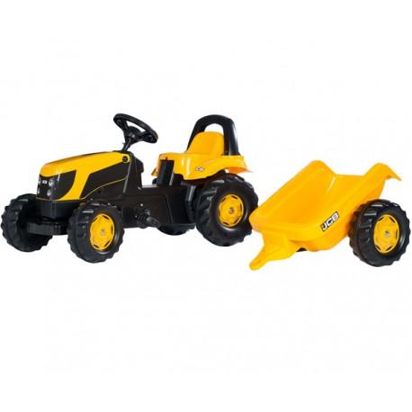 Rolly Toys Traktor Kid JCB z Przyczepą