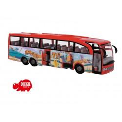DICKIE Autobus turystyczny Czerwony