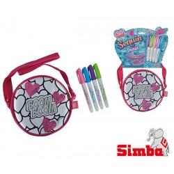 SIMBA Cekinowa torebka - pączek