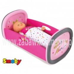 SMOBY Baby Nurse - Kołyska łóżeczko dla lalki