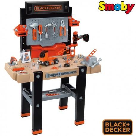 SMOBY Warsztat 95 akc. Ultimate Black&Decker