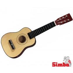 SIMBA MMW Gitara Drewniana Biała