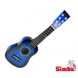 SIMBA MMW Gitara Drewniana Niebieska