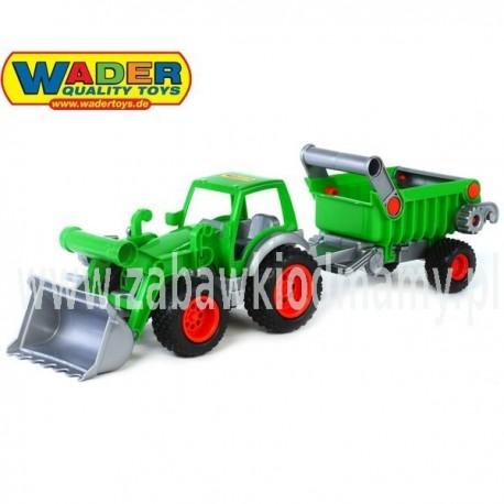 WADER Traktor Ładowarka Gigant z wywrotką