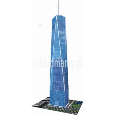 PUZZLE 3D 216 EL. NOWA WIEŻA WORLD TRADE CENTER REKLAMA