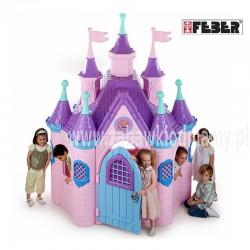 Feber Ogromny pałac księżniczki Super Palace Domek Ogrodowy + Zjeżdżalnia gratis!