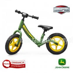 BERG Rowerek biegowy Biky John Deere Pompowane koła do 40 kg
