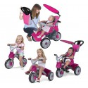FEBER Rowerek Trójk. Baby Trike Easy Evolution Róż