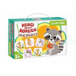 Gra memory Dzieci kontra rodzice: memory zwierzaki