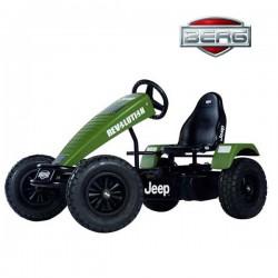 BERG Tereonowy Gokart na pedały Jeep Revolution BFR Pompowane koła od 5 lat do 100 kg