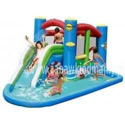 Dmuchaniec Wodny Happyhop Zamek Dmuchany The Splash Pool Zjeżdżalnia Trampolina