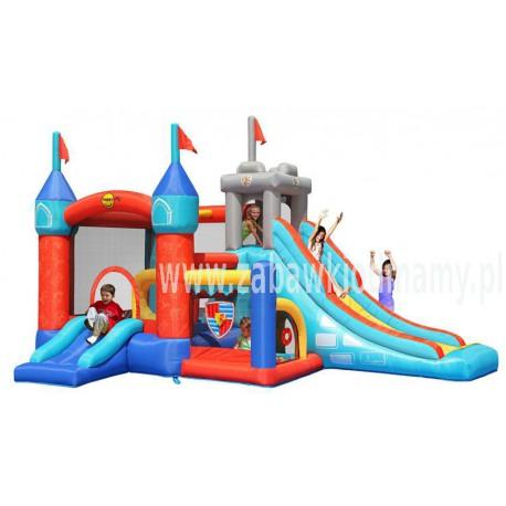 Zamek Fantastycznej Rozrywki 13w1 Dmuchaniec Zamek Dmuchany HappyHop Zjeżdzalnia Trampolina