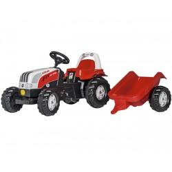 Rolly Toys Traktor Steyer Kid z przyczepą