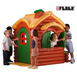 FEBER Domek Woodland Cottage With Sounds