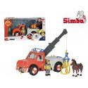 Simba Strażak SAM Dźwig Phoenix Figurka i Koń