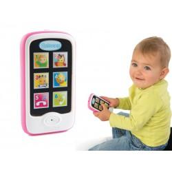 SMOBY Cootons Smartfon Różowy