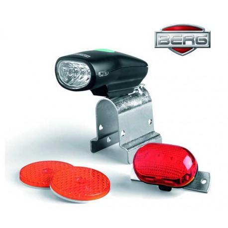 BERG Zestaw oświetleniowy LED + baterie